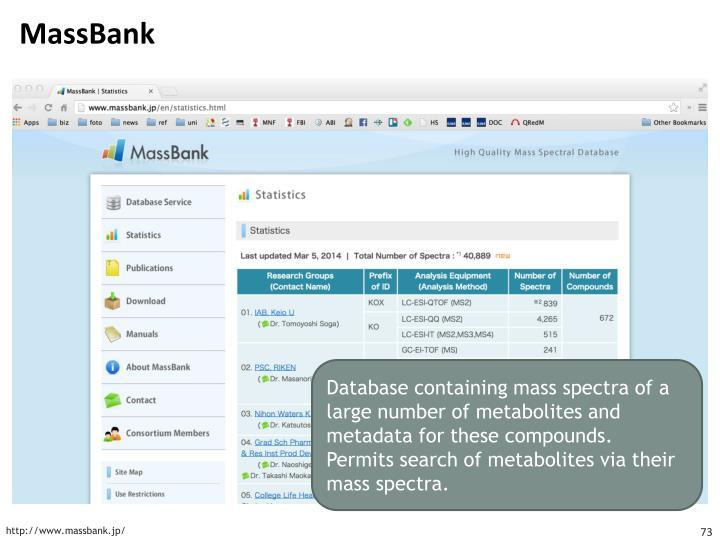 MassBank