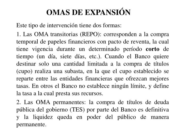 OMAS DE EXPANSIN