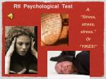 rti psychological test1