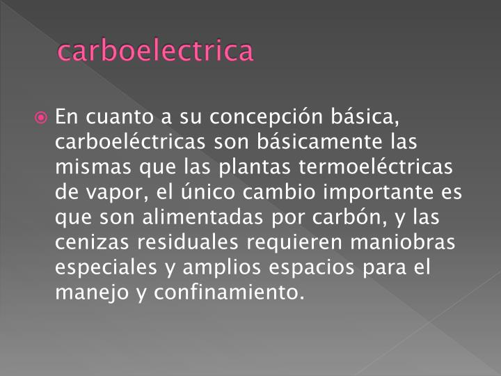 Carboelectrica