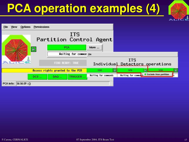 PCA operation examples (4)