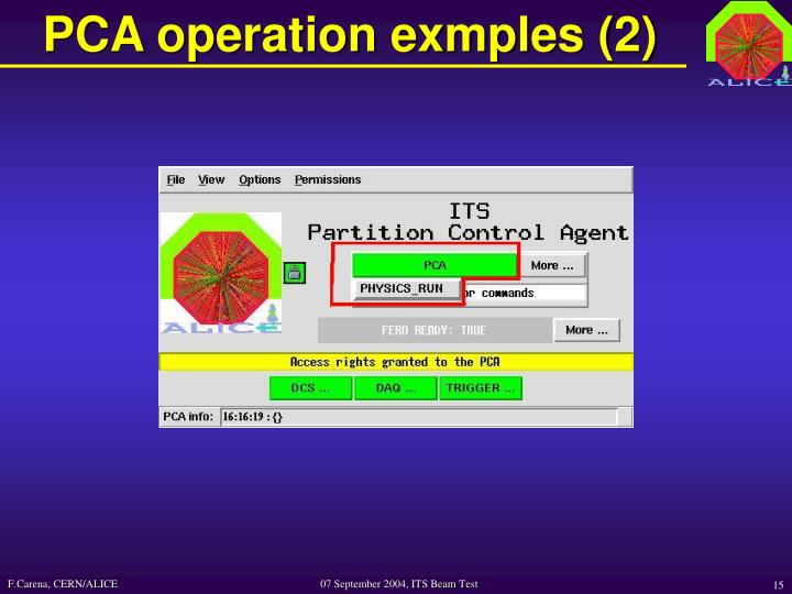 PCA operation exmples (2)