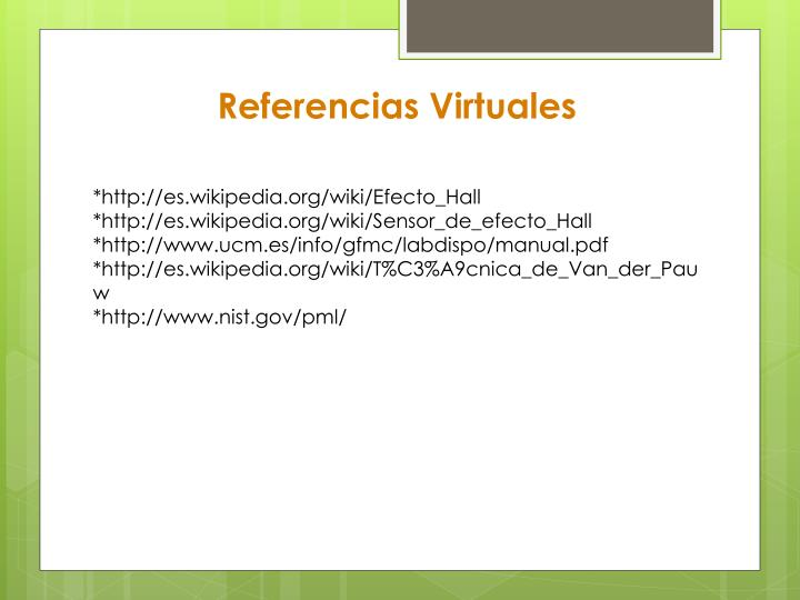 Referencias Virtuales