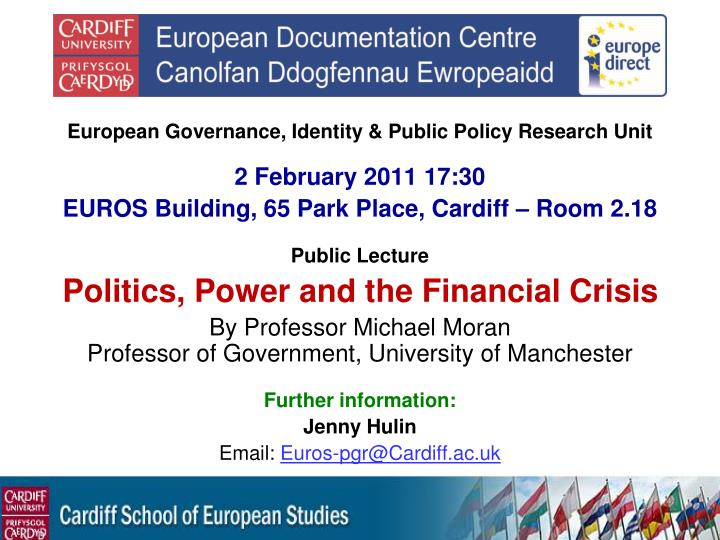 European Governance, Identity & Public Policy Research Unit