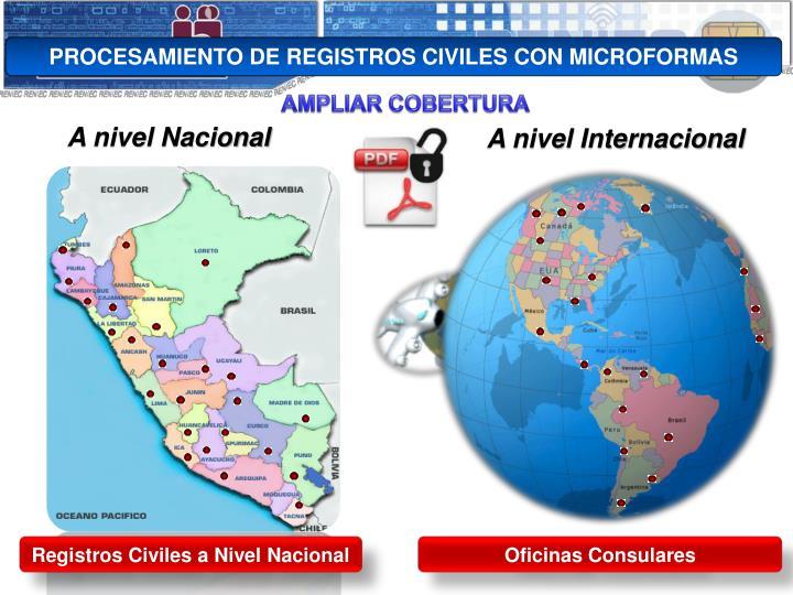 PROCESAMIENTO DE REGISTROS CIVILES CON MICROFORMAS