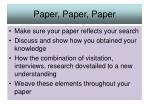 paper paper paper