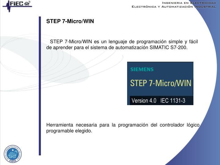 STEP 7-Micro/WIN