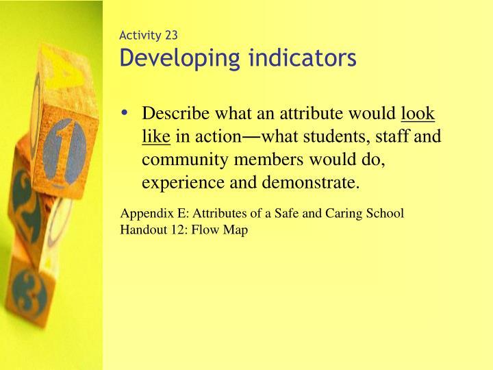 Activity 23