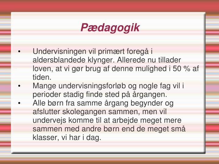 Pædagogik