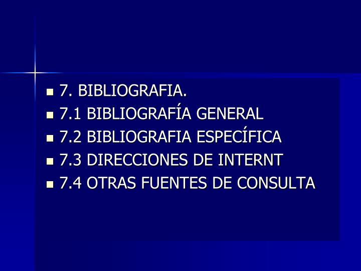 7. BIBLIOGRAFIA.