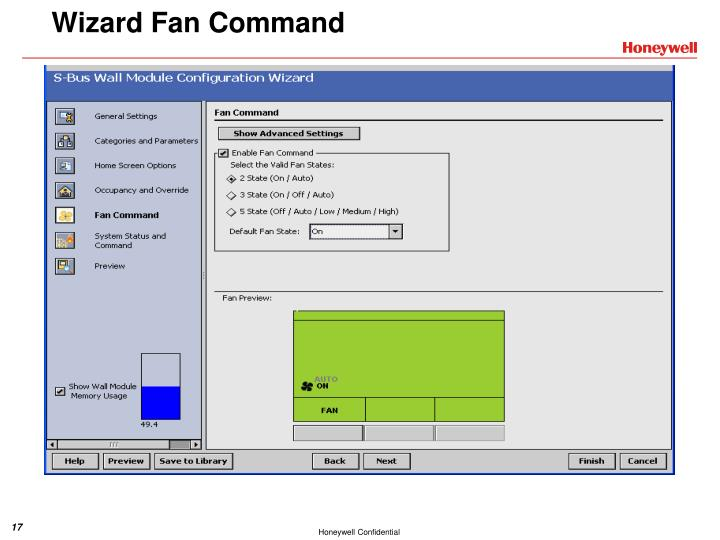 Wizard Fan Command