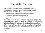 heuristic function