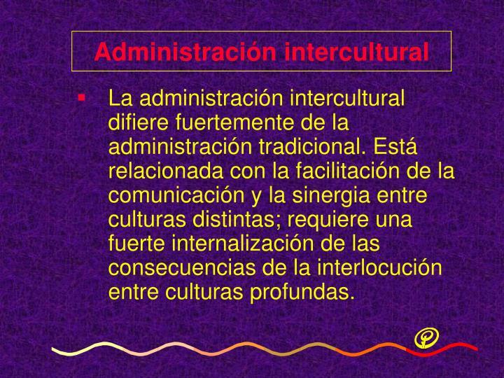 Administración intercultural