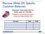 remove write off specific customer balances1