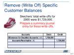 remove write off specific customer balances2