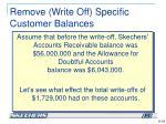 remove write off specific customer balances3