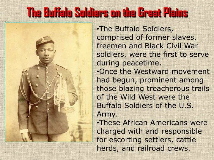 The Buffalo Soldiers on the Great Plains
