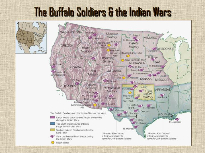 The Buffalo Soldiers & the Indian Wars