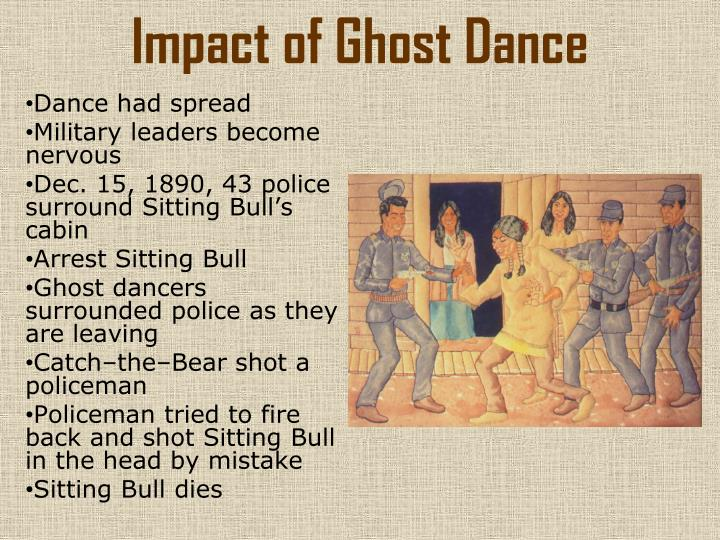 Impact of Ghost Dance