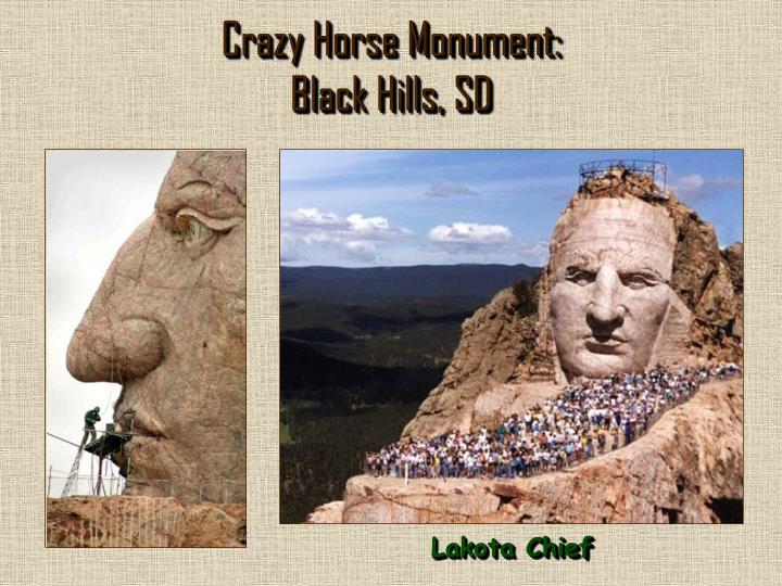 Crazy Horse Monument: