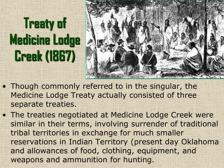 Treaty of Medicine Lodge Creek (1867)
