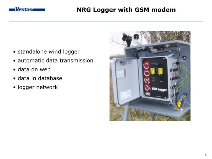 NRG Logger with GSM modem