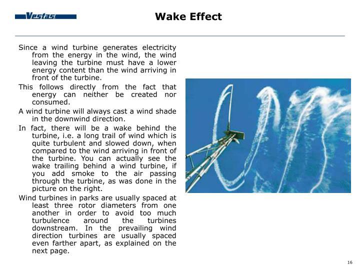 Wake Effect