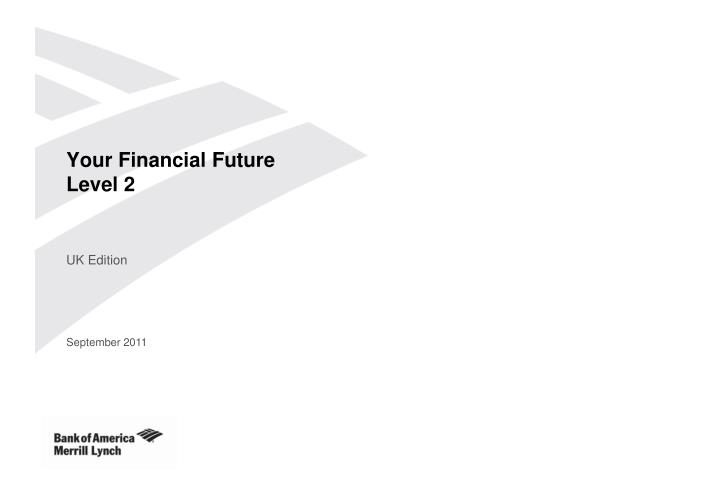 Your financial future level 2