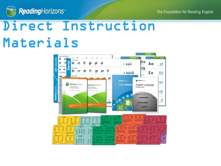 Direct Instruction Materials