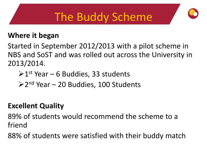The Buddy Scheme