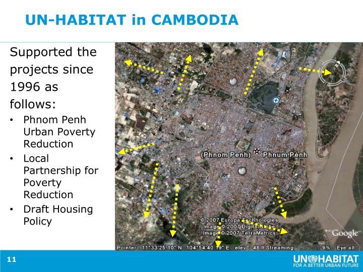 UN-HABITAT in CAMBODIA