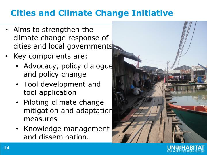 Cities and Climate Change Initiative