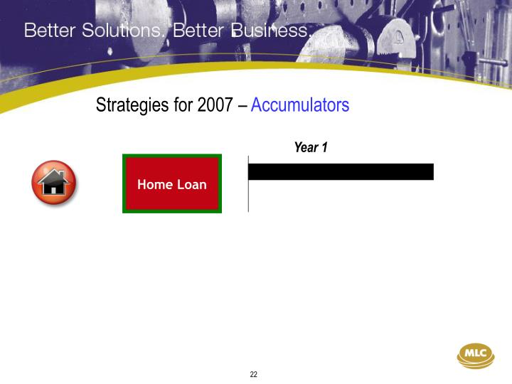 Strategies for 2007 –