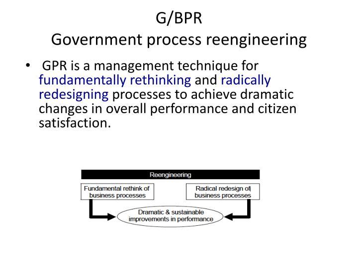 G/BPR