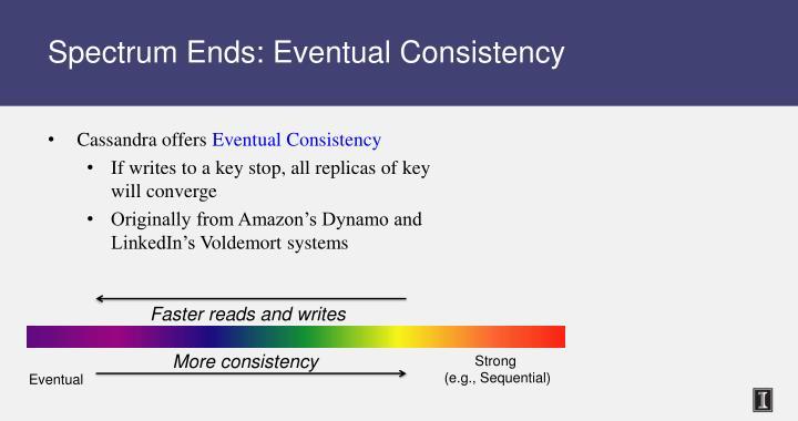 Spectrum Ends: Eventual Consistency