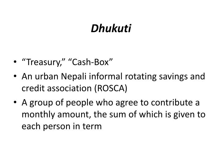 Dhukuti