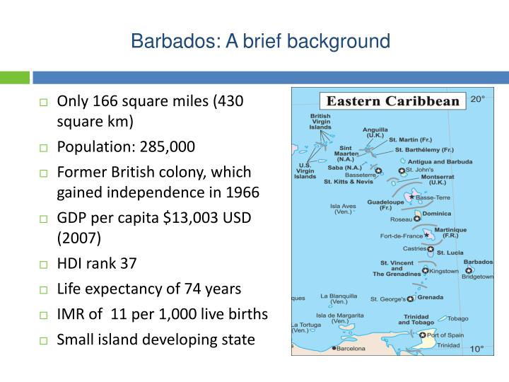 Barbados: A brief background