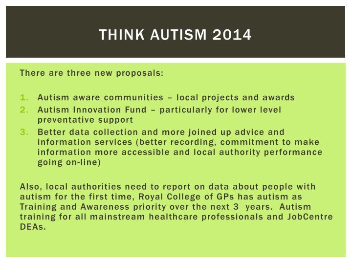Think autism 2014