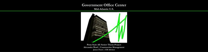 Government office center mid atlantic u s