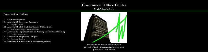 Government office center mid atlantic u s1