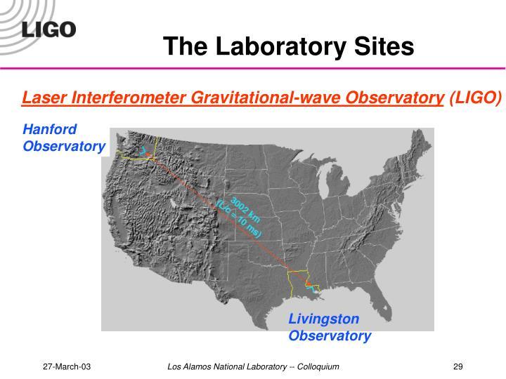 The Laboratory Sites