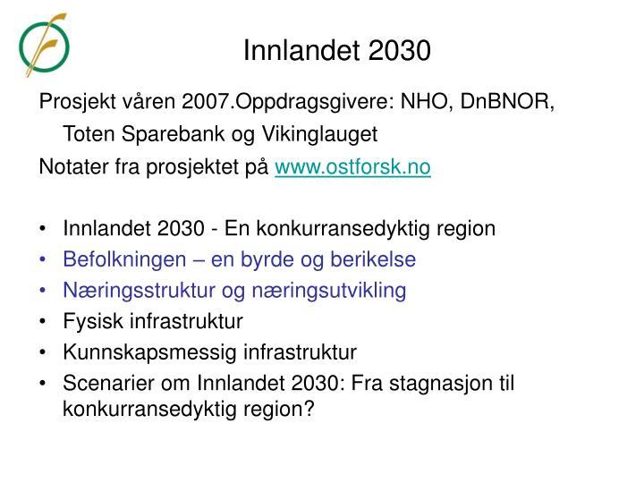 Innlandet 2030