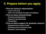 5 prepare before you apply1
