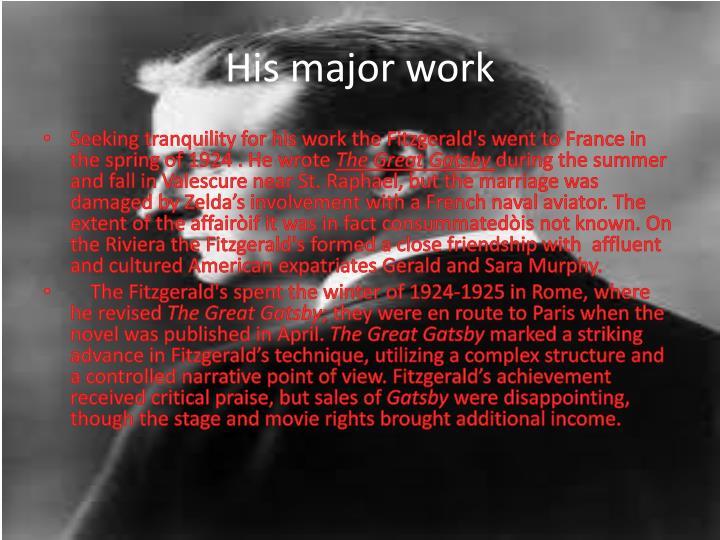 His major work