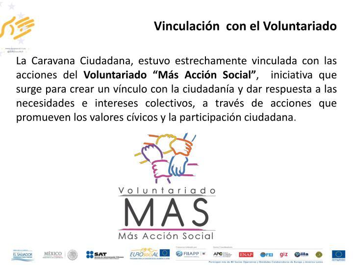 Vinculación  con el Voluntariado