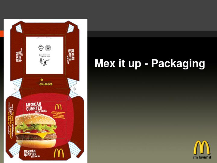 Mex it up - Packaging
