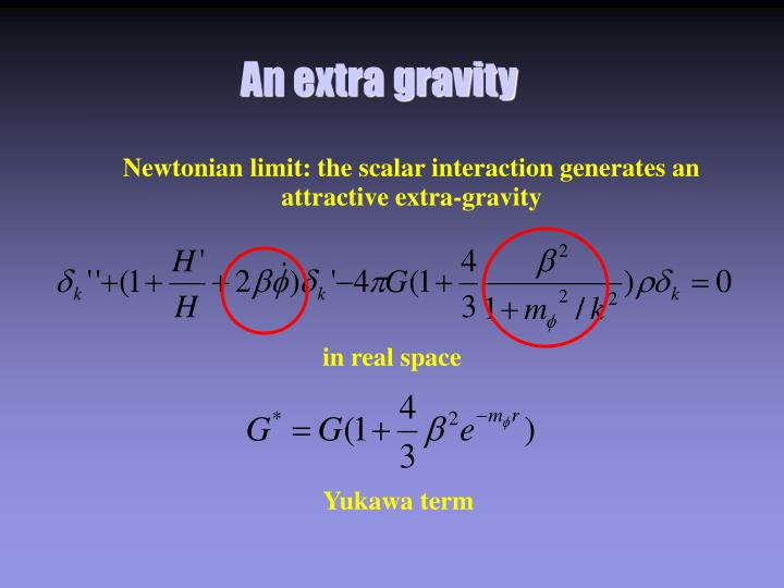 An extra gravity