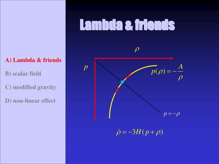 Lambda & friends