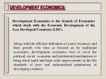 development economics1