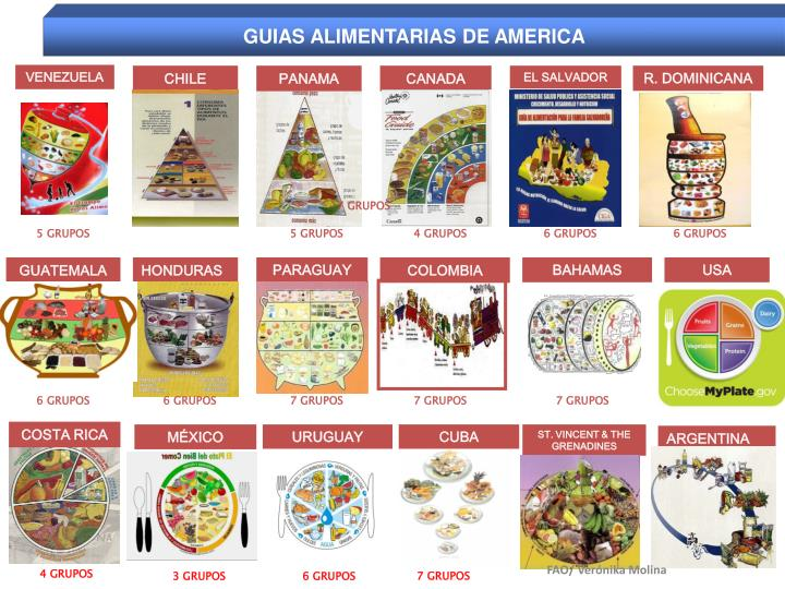 GUIAS ALIMENTARIAS DE AMERICA